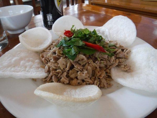 ベトナムフエ1日観光|宮廷料理レストランHoa Vien Gerden Restaurant_本日の宮廷料理コース_5品目