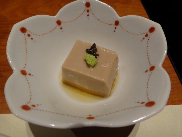 カムイの湯ラビスタ阿寒川レストラン「ワッカピリカ」の夕食_くるみ豆腐