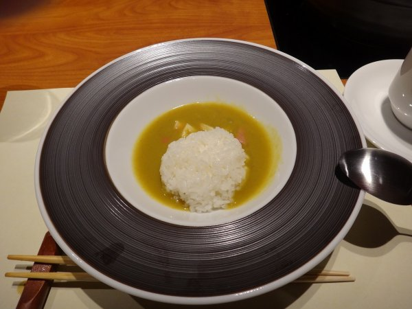カムイの湯ラビスタ阿寒川レストラン「ワッカピリカ」の夕食_ほっき貝のライスカレー