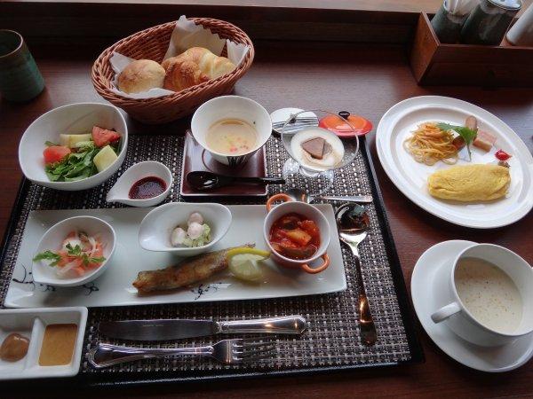 ラビスタ阿寒川の朝食_洋食膳