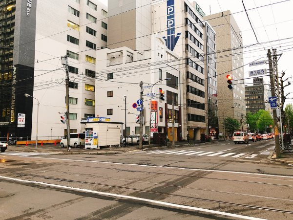 札幌イタリアンリッチRICCI cucinaITALIANA1回め_ビルの写真遠景
