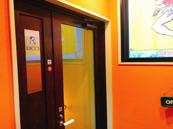 札幌イタリアンリッチRICCI cucinaITALIANA1回め_2階お店入り口