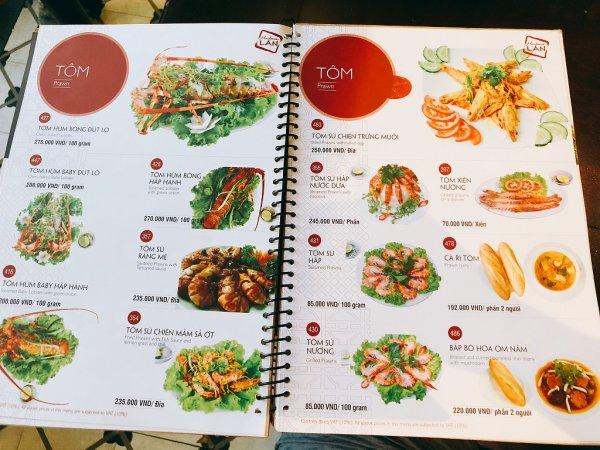 ベトナム・ダナンの高級レストラン マダム・ランMadame Lan_お料理メニュー4