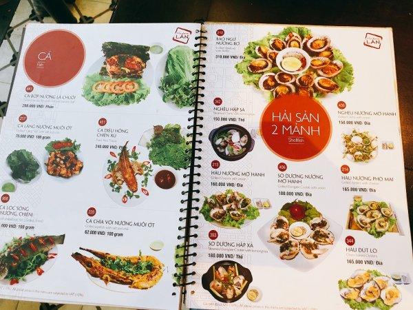 ベトナム・ダナンの高級レストラン マダム・ランMadame Lan_お料理メニュー6