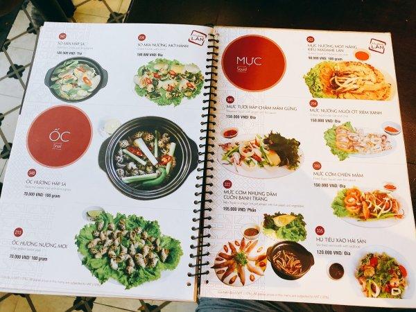 ベトナム・ダナンの高級レストラン マダム・ランMadame Lan_お料理メニュー7