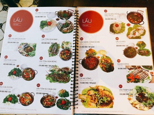 ベトナム・ダナンの高級レストラン マダム・ランMadame Lan_お料理メニュー12