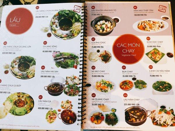 ベトナム・ダナンの高級レストラン マダム・ランMadame Lan_お料理メニュー13