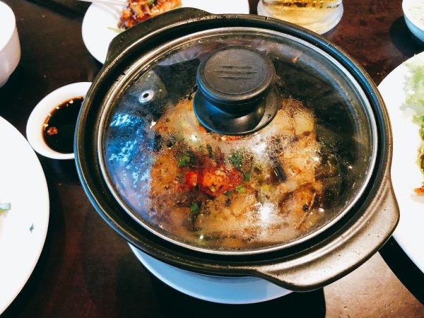 ベトナム・ダナンの高級レストラン マダム・ランMadame Lanお料理実食_白身魚のポット料理