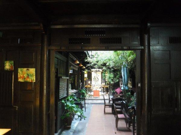 ホイアン旧市街観光_ホイアンの雑貨店coticカフェスペース