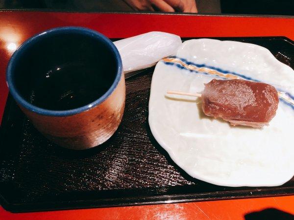 湯の川温泉望楼NOGUCHI函館_ウェルカムドリンク2
