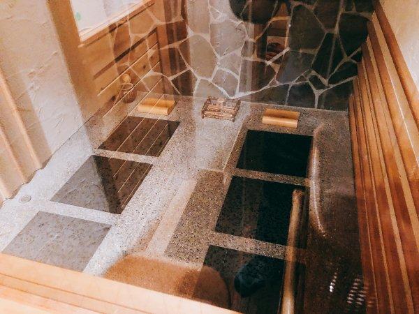 湯の川温泉望楼NOGUCHI函館12階1202「月見の間」_岩盤浴