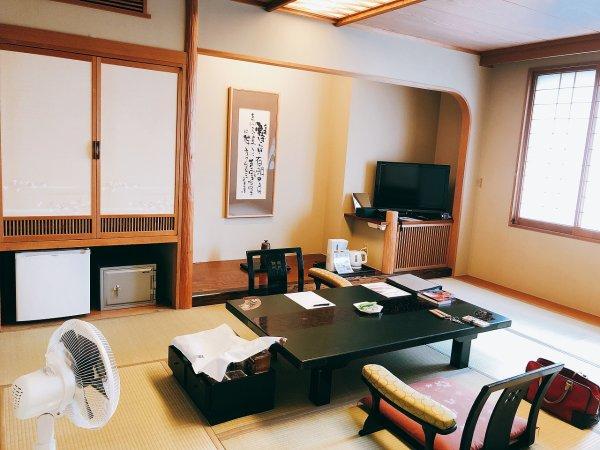湯の川温泉望楼NOGUCHI函館12階1202「月見の間」_和室内部