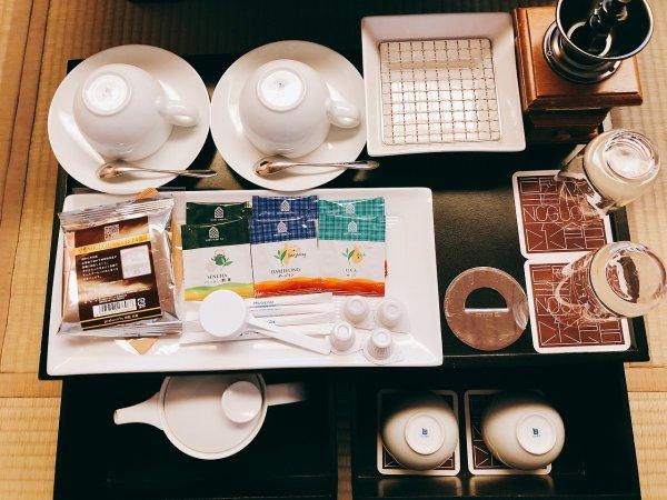 湯の川温泉望楼NOGUCHI函館12階1202「月見の間」_お茶器セット