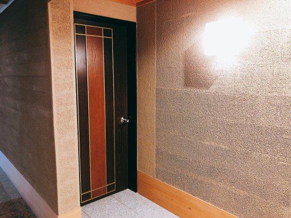 湯の川温泉望楼NOGUCHI函館12階1202「月見の間」_入り口
