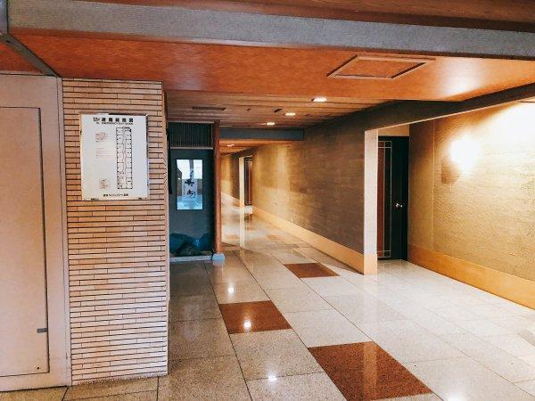 湯の川温泉望楼NOGUCHI函館12階廊下