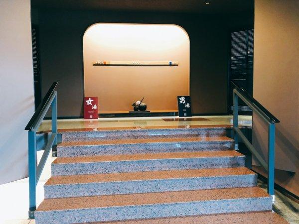 湯の川温泉で人気の望楼NOGUCHI函館_大浴場のある13階大浴場入口