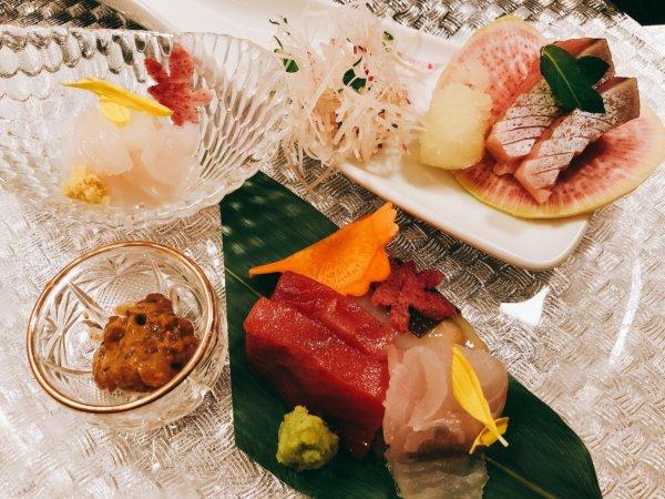 望楼NOGUCHI函館ブログ宿泊記【食事】夕食_4品目お刺身
