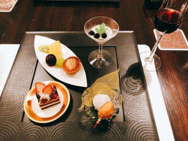 望楼NOGUCHI函館ブログ宿泊記【食事】夕食_デザート