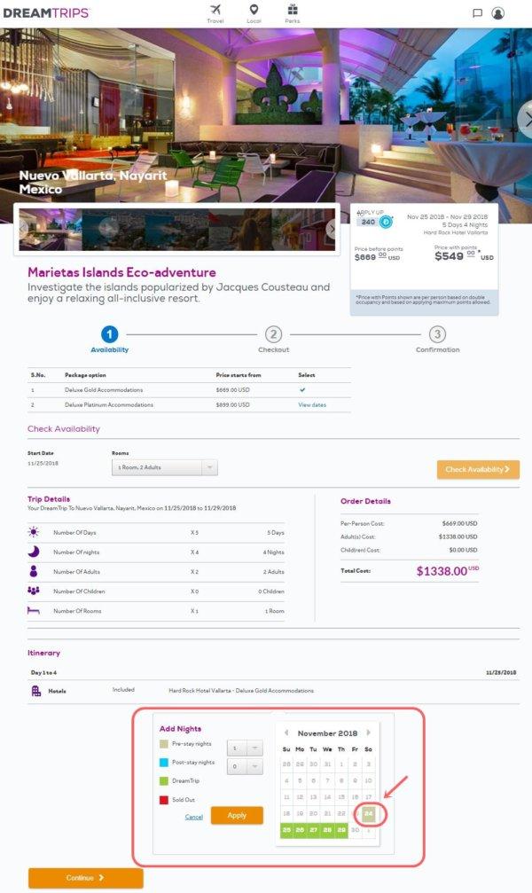 ワールドベンチャーズのドリームトリップ_ハードロックホテルバジャルタプレステイ追加画面3