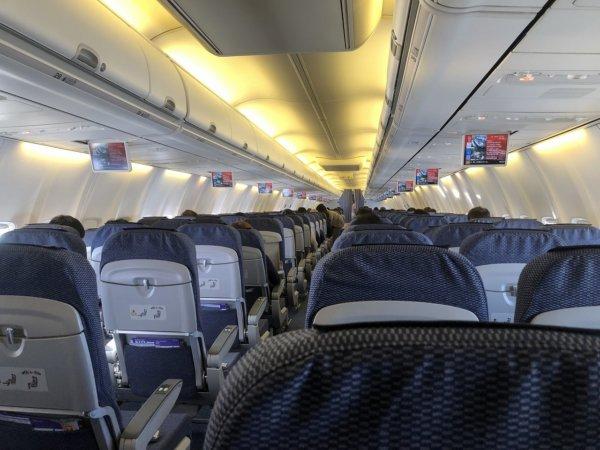 【メキシコ旅行】プエルトバジャルタの行き方_新千歳空港ANA成田便機内の様子
