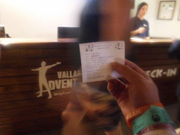 バリャルタアドベンチャーズVALLARTA ADVENTURES参加チケット