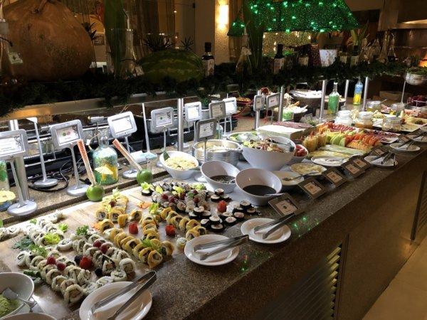 ハードロックホテルバリャルタのディナーレストラン_ブラジル料理 IPANEMA_ビュッフェ料理4