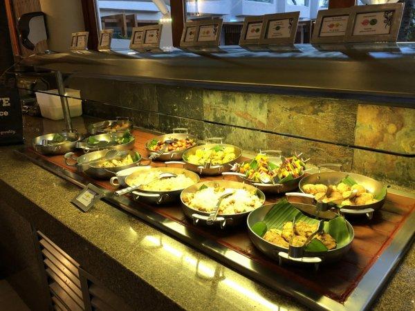 ハードロックホテルバリャルタのディナーレストラン_ブラジル料理 IPANEMA_ビュッフェ料理2