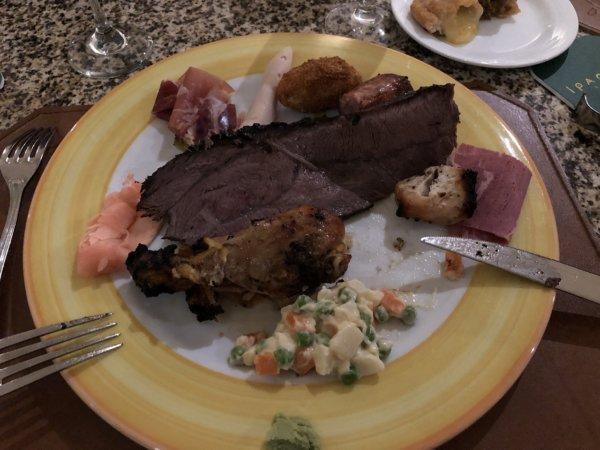 ハードロックホテルバリャルタのディナーレストラン_ブラジル料理 IPANEMA_シュラスコ料理2