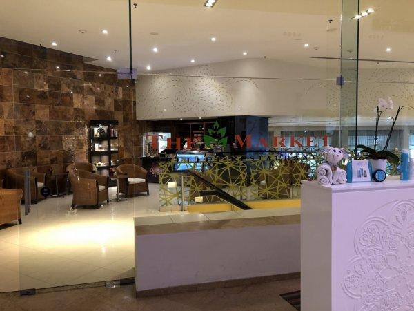 ハードロックホテルバリャルタ_オールインクルーシブ朝食会場入口