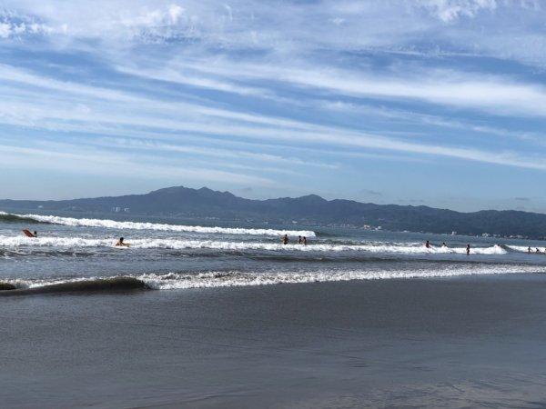 ハードロックホテルバリャルタのビーチの波