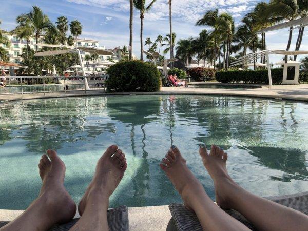 ハードロックホテルバリャルタの4つ目のプール
