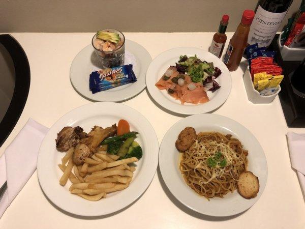 ハードロックホテルバリャルタ_ルームサービス_ディナー実食ALL