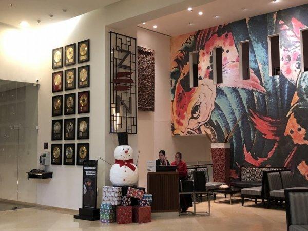 ハードロックホテルバリャルタのディナーレストラン_日本・アジア料理 ZEN_入り口