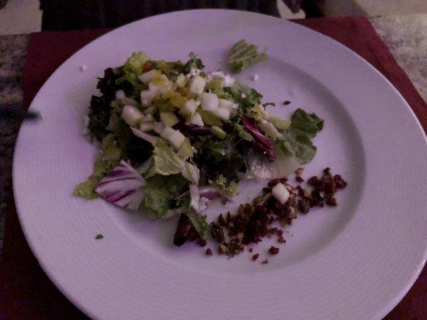 ハードロックホテルバリャルタのディナーレストラン_イタリアン CIAO_シーザーサラダ