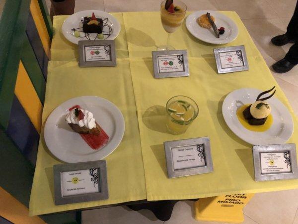ハードロックホテルバリャルタのディナーレストラン_ブラジル料理 IPANEMA_シェフ特製デザート5品