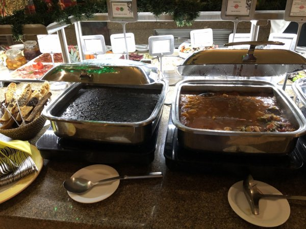 ハードロックホテルバリャルタのディナーレストラン_ブラジル料理 IPANEMA_ビュッフェ料理6