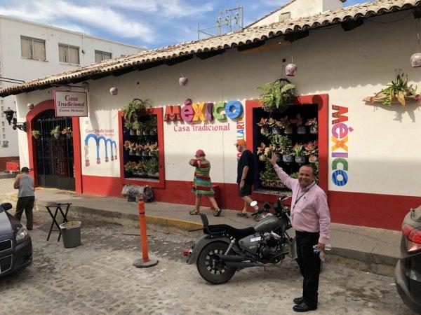 メキシコ・プエルトバジャルタ市内観光ツアースポット_ダウンタウン周辺散策2