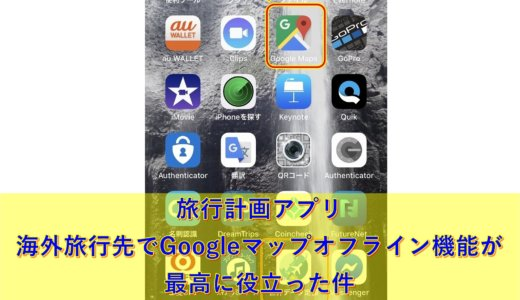 海外旅行アプリ|海外旅行先でGoogleマップオフライン機能が最高に役立った件