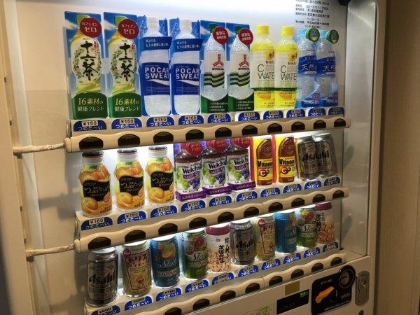 羽田空港に近いホテル京急EXイン羽田_館内自動販売機