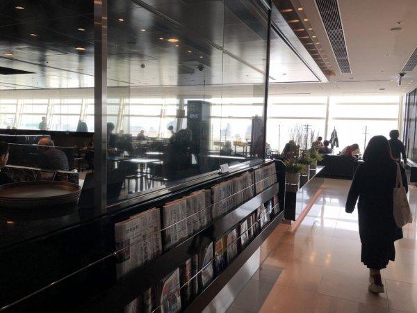 羽田空港国際線ターミナルANAラウンジ_中の様子1