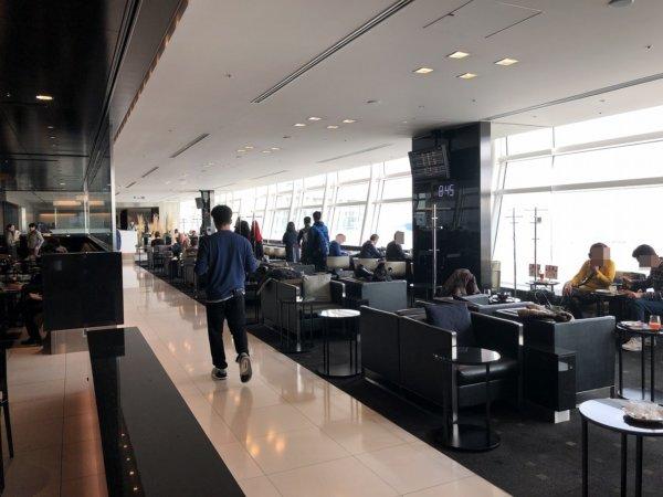 羽田空港国際線ターミナルANAラウンジ_中の様子2