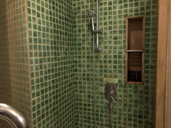 インターコンチネンタルパタヤリゾート_客室キングベッドガーデンビュー_シャワーブース内部