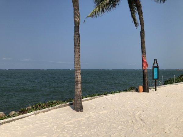 インターコンチネンタルパタヤリゾート_プライベートビーチ風景2