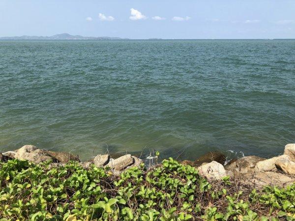 インターコンチネンタルパタヤリゾート_プライベートビーチ風景3