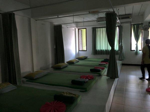 パタヤで全身タイマッサージ_Yellow Massageイエローマッサージ_全身タイマッサージを受ける場所