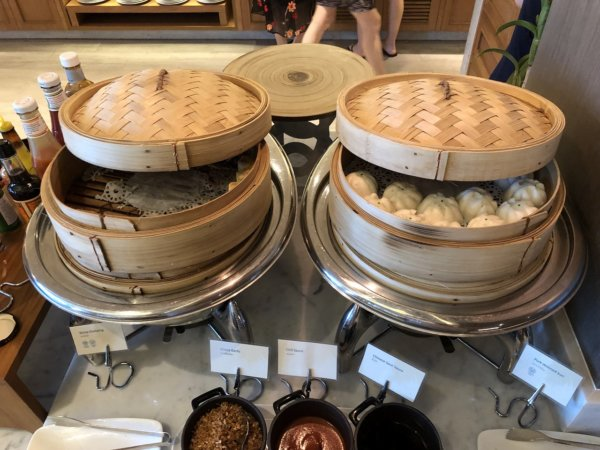 インターコンチネンタルパタヤリゾートの朝食_会場のお料理5
