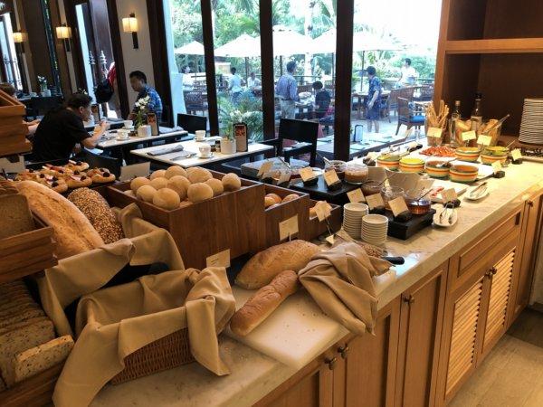 インターコンチネンタルパタヤリゾートの朝食_会場のお料理8