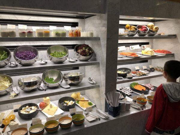 インターコンチネンタルパタヤリゾートの朝食_会場のお料理11