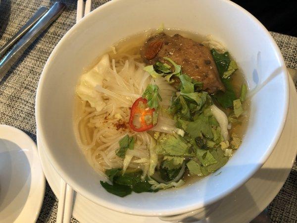 インターコンチネンタルパタヤリゾートの朝食_実食1麺料理