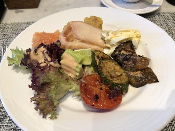 インターコンチネンタルパタヤリゾートの朝食_実食プレート1
